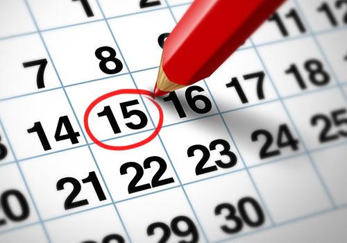 Kalender voor auto onderhoud